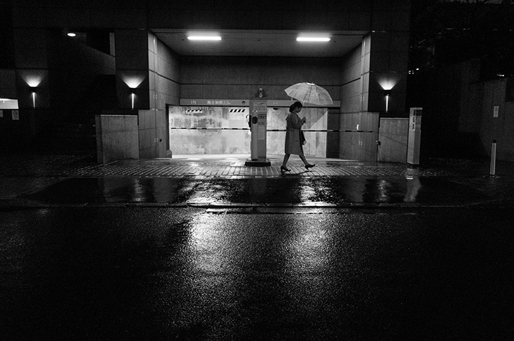 Ebisu on a Rainy Day1 - 2020/03/10